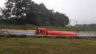 Waterwagen 12-3060 Met Spoed Naar Grote brand stomerij in IJmuiden