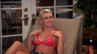 Miley Cyrus In Bikini - Two And A Half Men