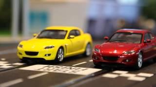 Трасса с гоночными машинками Mazda на пульте.(, 2016-10-28T15:58:01.000Z)
