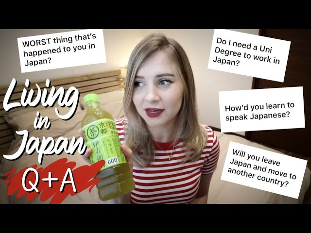 Most Asked Questions About Life in Japan 🇯🇵 Q+A #asksharla