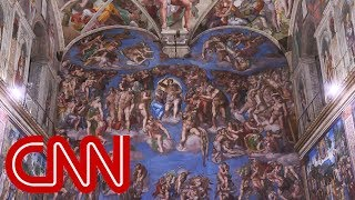 Experts protect elaborate art in Sistine Chapel