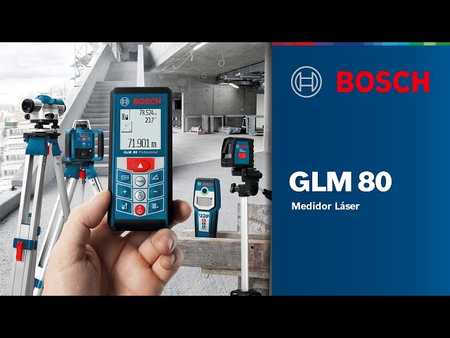 GLM 80 Professional - Inclinómetro digital y medidor de distancias a laser
