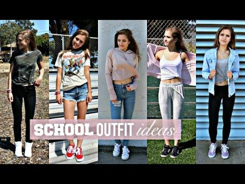 [VIDEO] - CASUAL BACK TO SCHOOL OUTFIT IDEAS/ comfortable outfit for high school & college 2