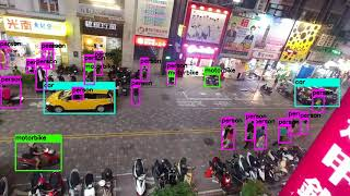 Yolo v3 object detection run by Google Colab