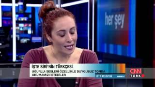İşte, Türkçe Siri'yi seslendiren o ses!