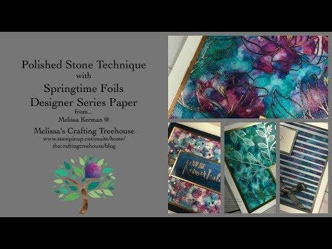 Polished Stone with Springtime Foils DSP