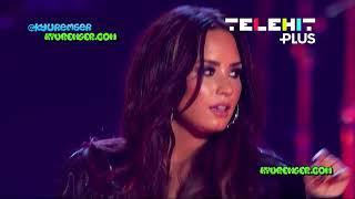 Demi Lovato - Sexy Dirty Love Live at Premios Telehit 2017