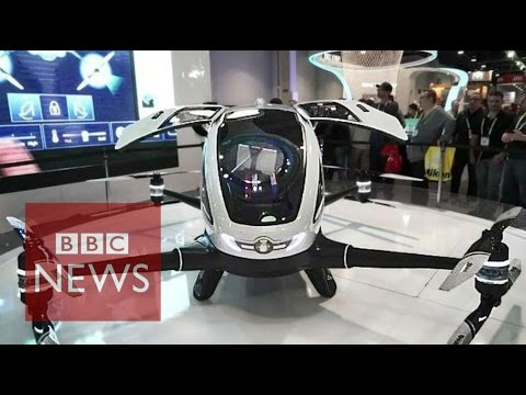 CES 2016: Pilotless drone to transport humans - BBC News