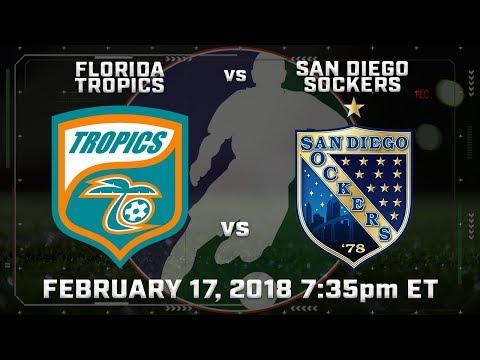 Florida Tropics vs San Diego Sockers