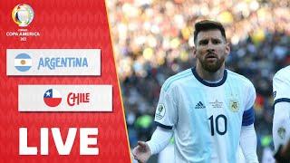 🔴 Trực tiếp   Argentina - Chile   Copa America 2021   NEXT SPORTS