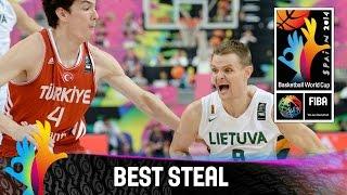 Gambar cover Cedi Osman v Lithuania - Best Steal - 2014 FIBA Basketball World Cup