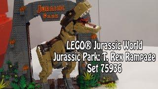 LEGO Jurassic Park: T. Rex Rampage (Set 75936): Klemmbausteinlyrik News