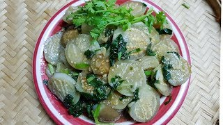 Cà ngọt xào Lá Lốt || cách làm cho cà mềm ngọt ăn vèo nồi cơm||Thanh Tâm Food