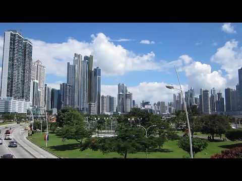 Panama City Panama DOWNTOWN Skyscrapers