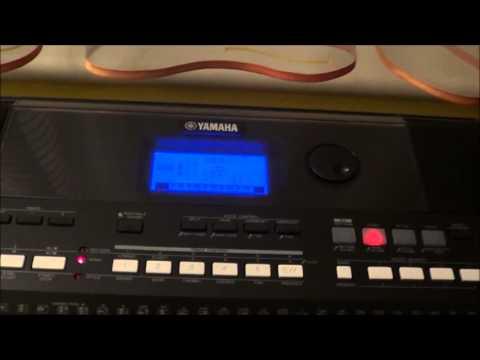 YAMAHA PSR E433 -  multitrack recording