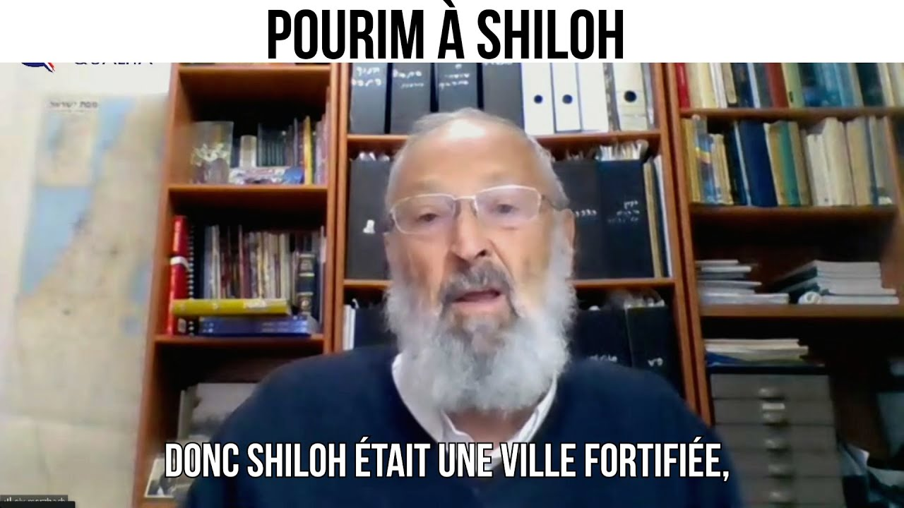 Pourim à Shiloh - L'invité du 28 fevrier 2021