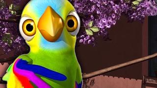 Попугайчик Пепе детские популярные песни