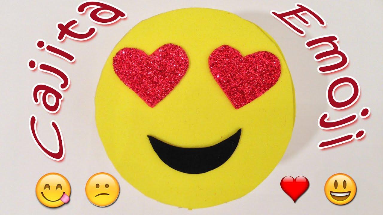 Como hacer una cajita emojis manualidades para todos - Como hacer manualidades ...