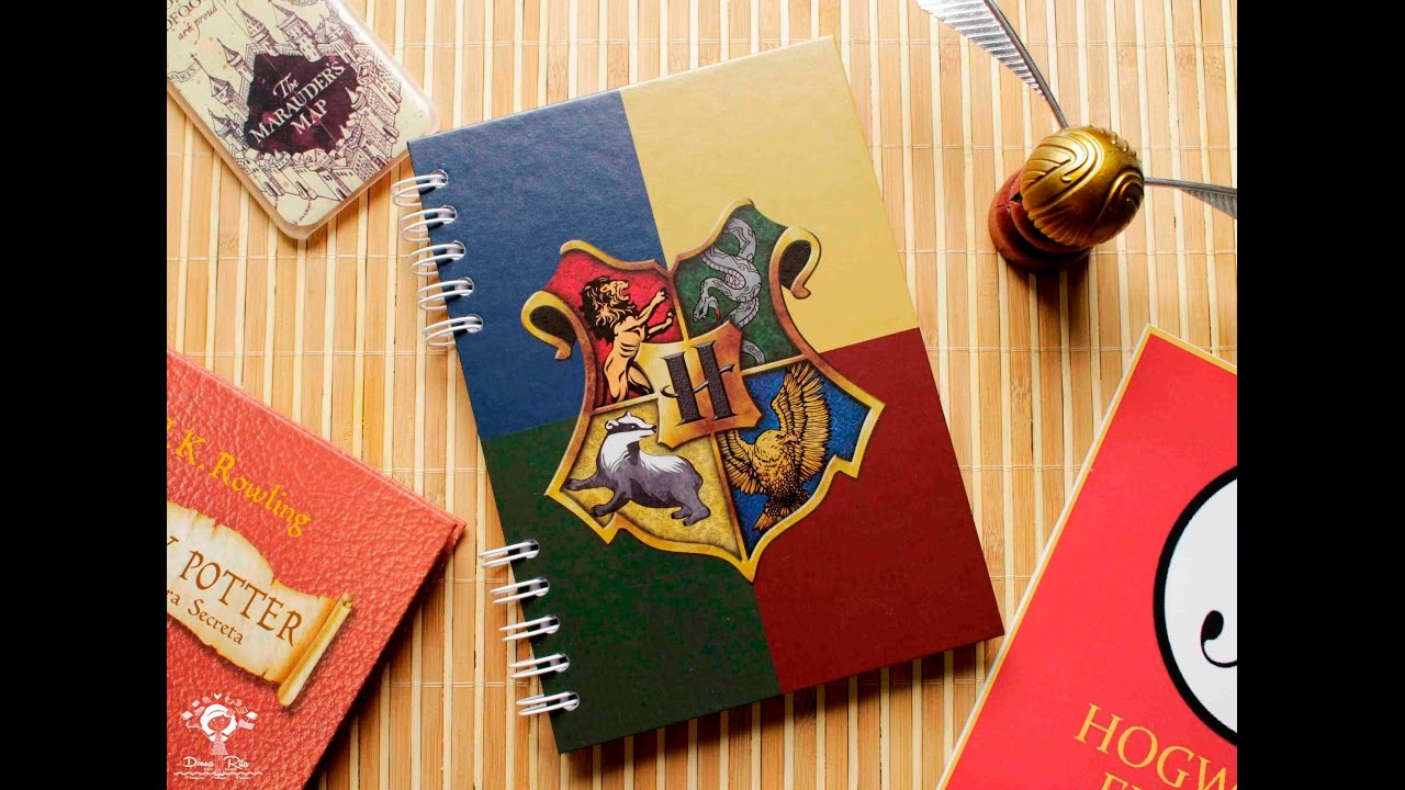 Caderno harry potter casas grifin ria youtube - Harry potter casa ...