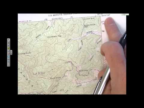 NC Science Olympiad 2007 Road Scholar Test: Analysis of 1:24000 Topographic Maps (Pt I)