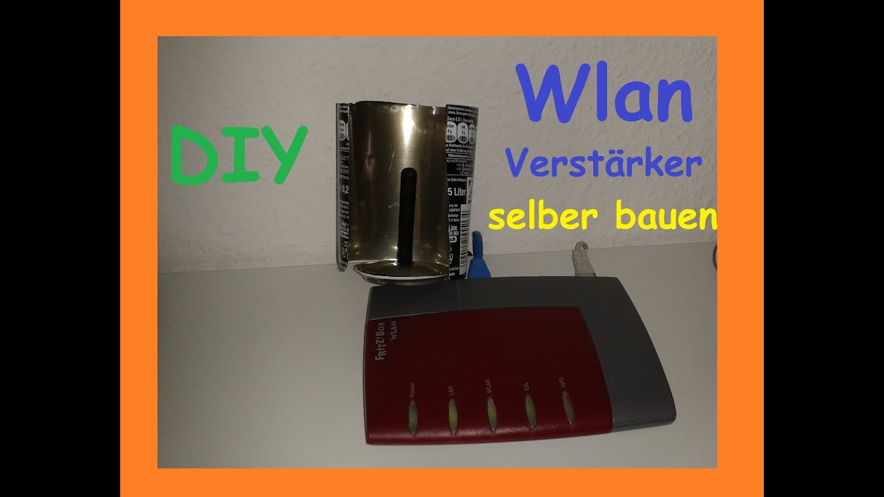 wlan verst rker aus dose selber bauen machen repeater w lan signal verbessern antenne. Black Bedroom Furniture Sets. Home Design Ideas