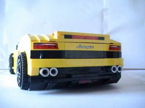 Lego Lamborghini Gallardo Lp 560 4 Youtube