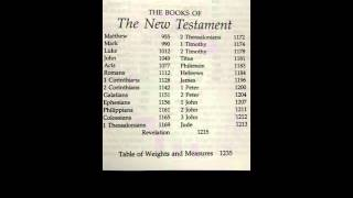 new testament books of the bible song