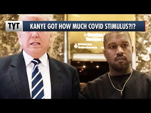 You Won't Believe How Much Federal Stimulus Money Kanye West Took