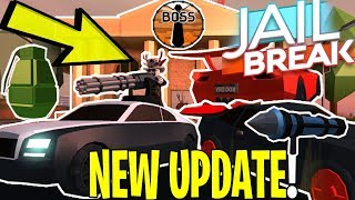 ROBLOX JAILBREAK NEW UPDATE OUT TODAY! (NOT CLICKBAIT!) *NEW* thumbnail