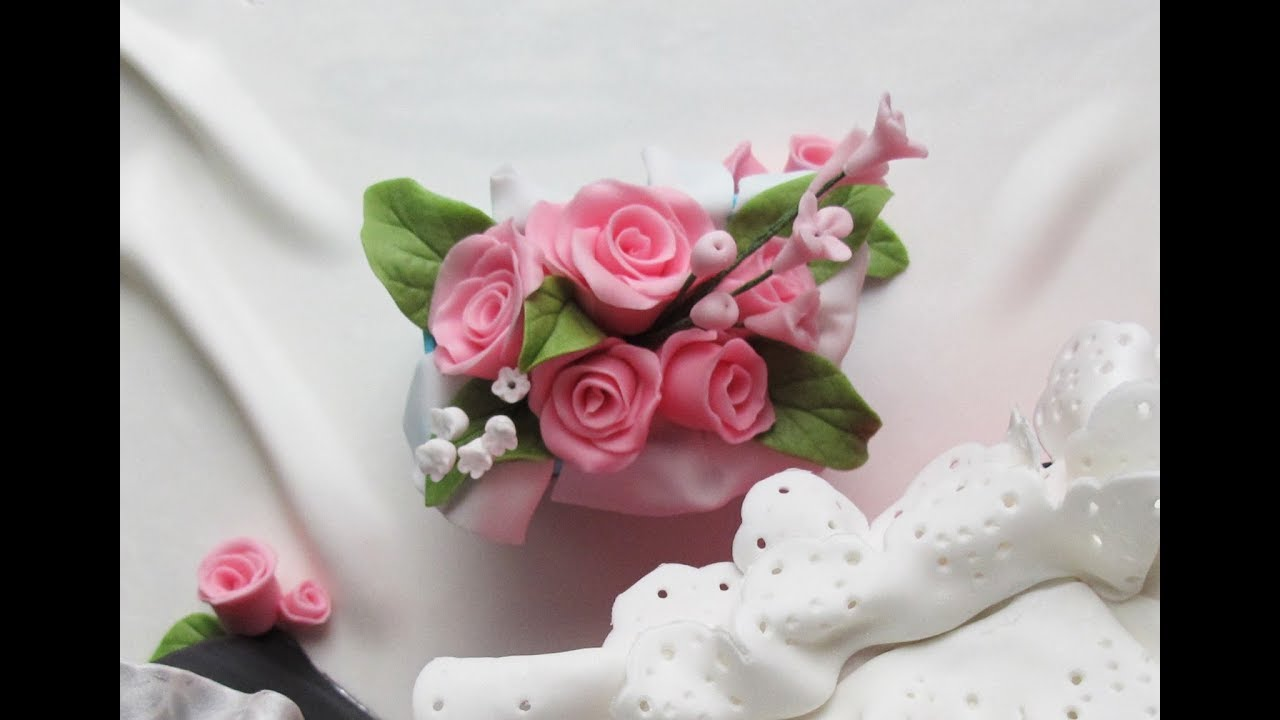 How To Make Quick And Easy Fondant Roses And Filler Flowers No