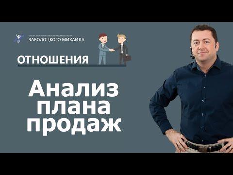 Анализ плана продаж | Маркетинг