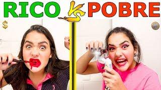 RICO VS POBRE FAZENDO AMOEBA / SLIME #22