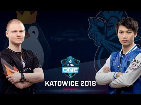 Dota 2 - Team Kinguin vs. Newbee - UB Ro8 - Group B - ESL One Katowice Major 2018