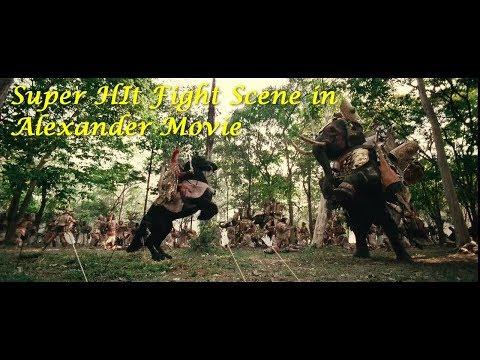 Super hit Fight Scene in Alexander Movie