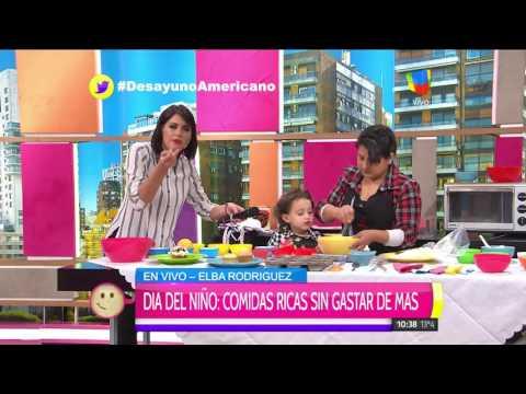 El divertido momento con la hija de Pamela David en Desayuno Americano