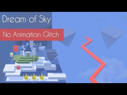 Dancing Line - Dream of Sky (No Animation Glitch)