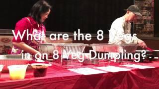 Making Chinese Dumplings - Part I - Rolling Dough Technique