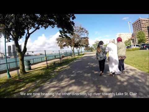 Biking the Windsor Riverfront