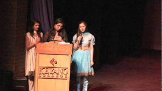 FMGCS Talent Show 2012 - Canadian/Indian National Anthem on the Piano