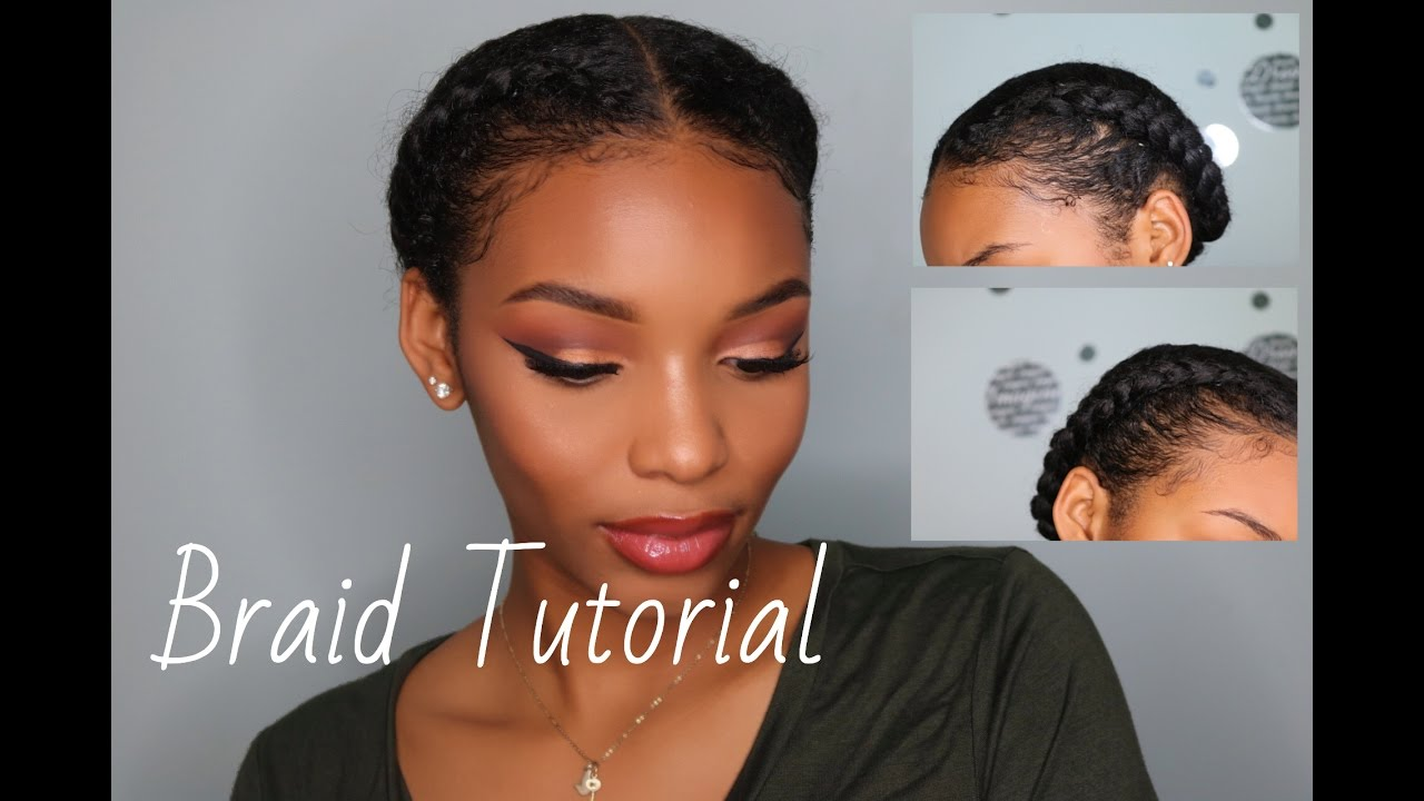 own hair style how to braid your own hair braid tutorial protective 5306