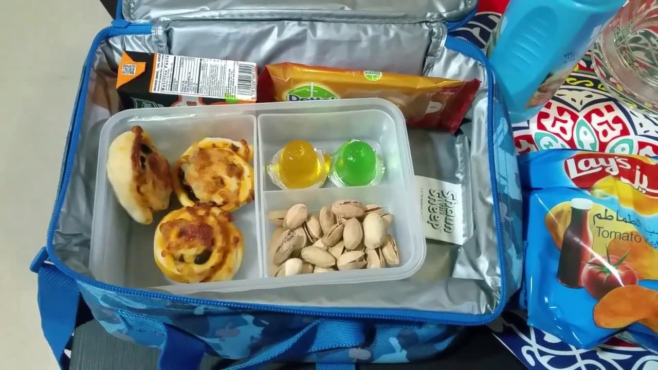 Lunch Box Of A Preschooler