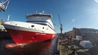 Spirit of Tasmania Docking 2016
