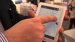 Pocketbook Touch Lux e-Reader - First Look