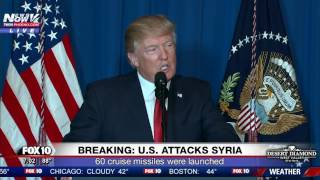 BREAKING: President Trump Announces Syria Attacks (FNN)
