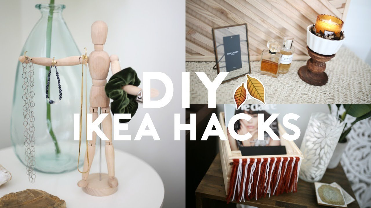 DIY IKEA HACKS! DIY ROOM DECOR (EASY & CHEAP )
