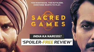 Is Sacred Games the *BEST* Indian TV Series? 🔥   Netflix Sacred Games Season 1 Review