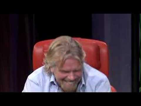 Richard Branson in TED / Dyslexic / ADHD / ADD