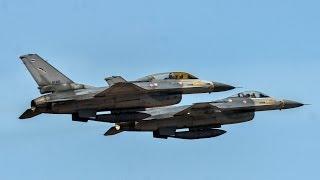 RTAF F-16 Dogfight & Ground Attack Air Show วันเด็ก 2015 @ Wing1.