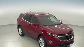 182799 - New, 2018, Chevrolet Equinox, LT, Red, SUV, Test Drive, Review, For Sale -