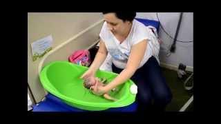 Meu primeiro banho no Hospital - Isabella